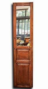 Decoration Murale Miroir : grand miroir pour d coration murale sur une porte ancienne ~ Teatrodelosmanantiales.com Idées de Décoration