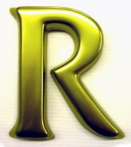 3d letter r shop front signs blog With 3d acrylic fillable letters