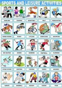 English teaching worksheets: Sports pictionary
