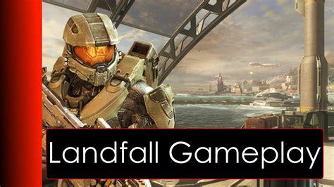 Halo 4 Landfall Gameplay Youtube