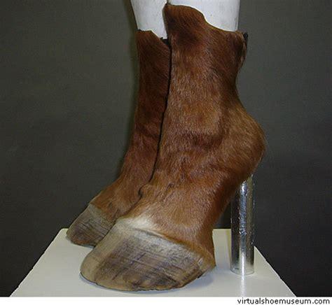 horse heels huf highheels von iris schieferstein