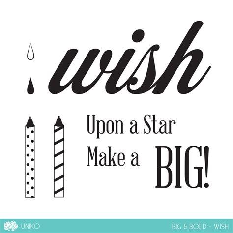 9 times you wished big big bold wish clear sts uniko