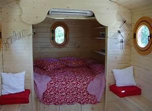 Ferienhaus Kaufen Frankreich : wohnwagen aus holz innenansicht ferienh user in frankreich ~ Lizthompson.info Haus und Dekorationen