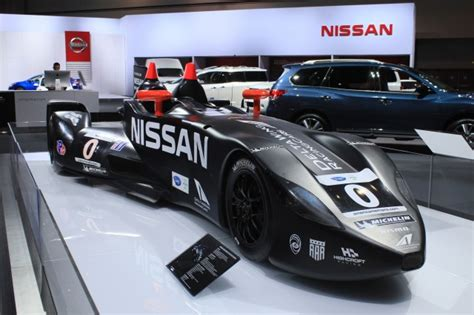 nissan race car delta wing nissan deltawing racer live photos 2012 los angeles auto show
