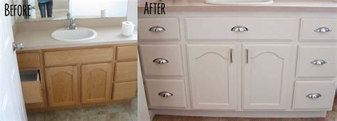 painted bathroom cabinets before and after a few of my favorite things master bath before and after