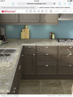 kitchen sink cabinets wilsonart a marriage of material with creative 2602