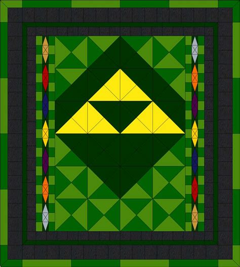 Quilting On A Whim Up Next The Legend Of Zelda Quilt