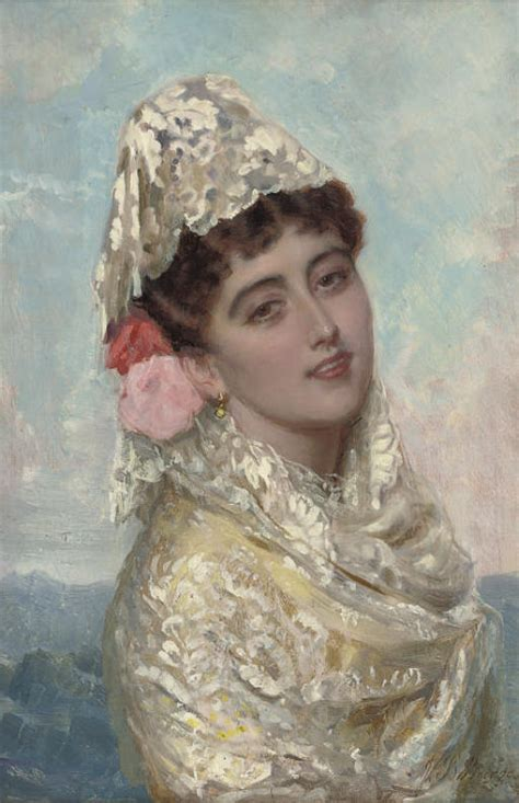 John Bagnold Burgess, Ra (british, 18301897) , A