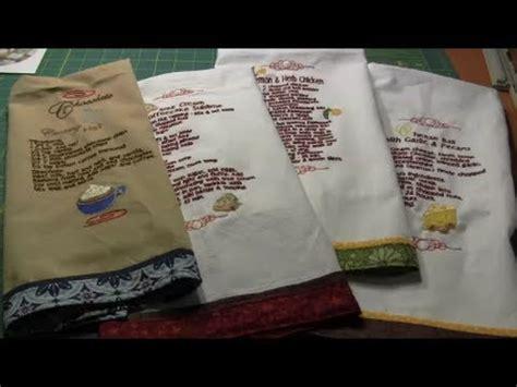 add  fabric border   bottom   towel youtube