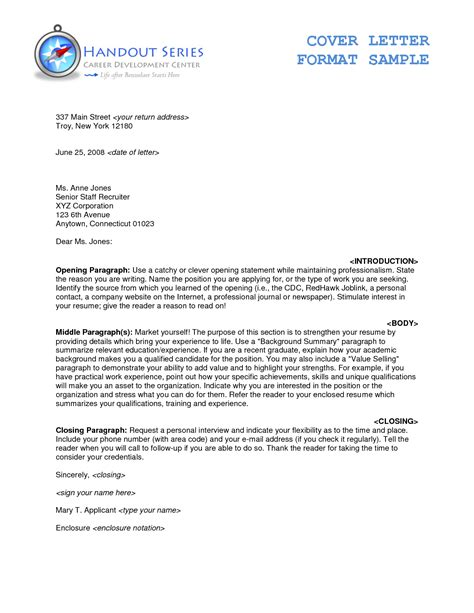Proper Heading For Resume Cover Letter by Cover Letter 50 Proper Letter Formats Standard Business