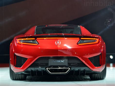 acura unveils production ready nsx hybrid supercar at the