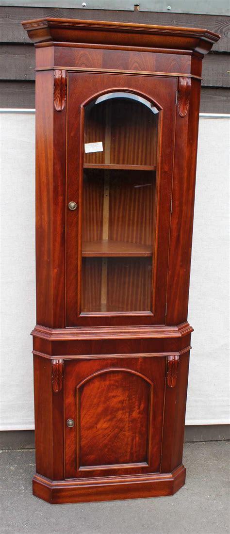 mahogany corner cabinet antiques atlas mahogany corner cabinet on cabinet with 3949
