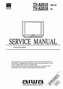 Aiwa Tv Service Manual Download Free