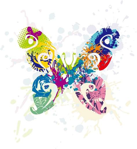 free graphic design abstract butterfly vector graphic free vector graphics