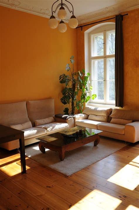 Warme Wandfarben Wohnzimmer by Warme Wandfarbe Als Einrichtungstipp F 252 Rs Wohnzimmer