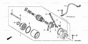 Honda Atv 2008 Oem Parts Diagram For Starter Motor