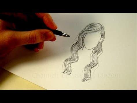 zeichnen lernen haare frisur zeichnen mit bleistift