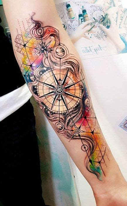 Signification Tatouage Rose Des Vents Tatouage Rose Des Vents