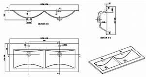 Dimension Lavabo Salle De Bain : le monde du bain meuble salle de bain design double ~ Premium-room.com Idées de Décoration