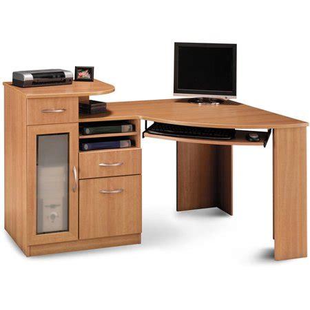 walmart corner desk bush industries vantage corner desk walmart
