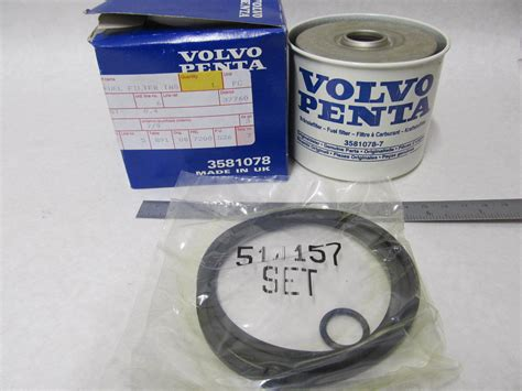 Sten Fuel Filter by 3581078 858201 Volvo Penta Drive Fuel Filter Insert