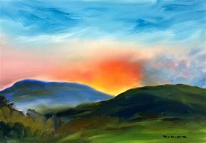 The Very Rich Hours - Sunset Paintings-Visionary Art ...