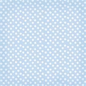 Blue Polka Dot Scrapbook Paper