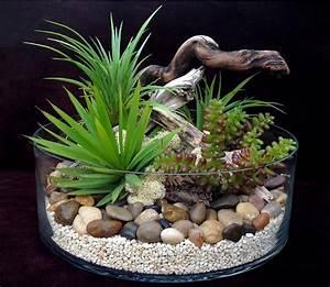 Terrarium Plante Deco : terrarium plantes grasses artificielles h15 d28 dario ~ Dode.kayakingforconservation.com Idées de Décoration