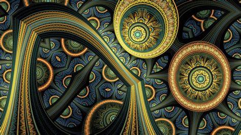 fractal art wallpaper  desktop mobile