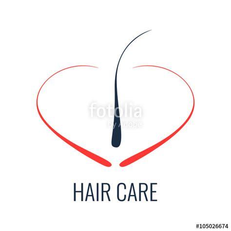 quot hair care logo hair follicle icon hair bulb symbol