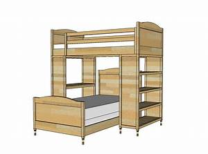 free plans for building a full-size loft bed Quick