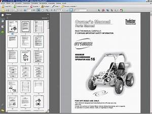 Hammerhead Twister Gt150 Iir - Service Manual