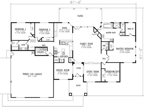delightful 3000 sq ft home plans mediterranean style house plan 4 beds 2 5 baths 3000 sq