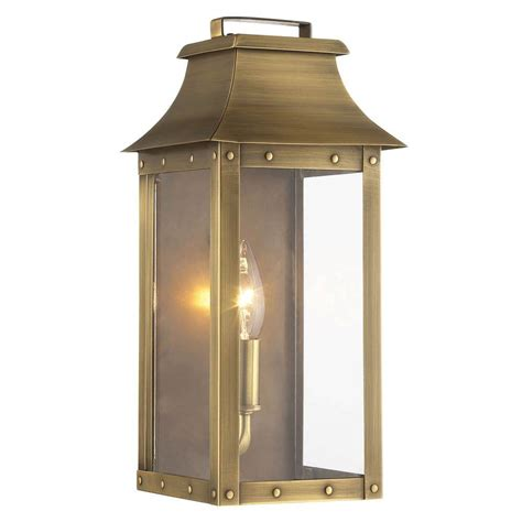 acclaim lighting manchester collection 1 light aged brass
