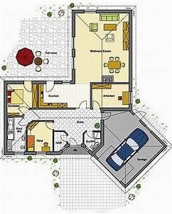 Haus L Form : winkelbungalow bauen bungalow in l form ~ Buech-reservation.com Haus und Dekorationen