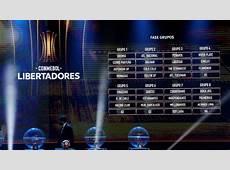 Resumen del sorteo Copa Libertadores y Copa Sudamericana