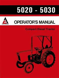 Allis Chalmers Model D17 Tractor Series Iv  Series Four