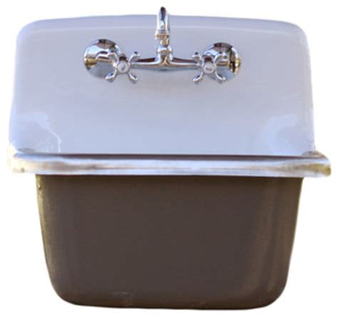 porcelain farm basin sink contemporary kitchen sinks by rela