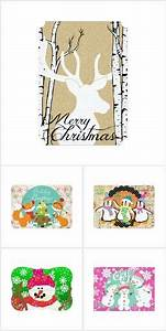233 best images about christmas cards on pinterest With christmas cards with matching address labels