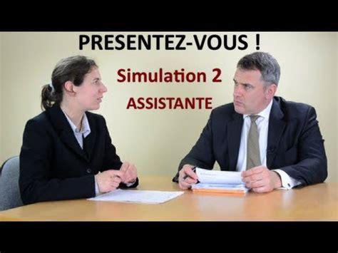 coach emploi simulation 2 d entretien d embauche de recrutement se pr 233 senter