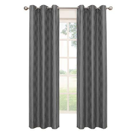 eclipse blackout curtains eclipse captree blackout smoke polyester grommet curtain