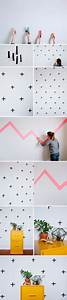 Leere Bilderrahmen Dekorieren : washi tape wallpaper diy puzzle box pinterest ideen deko und kinderzimmer ~ Markanthonyermac.com Haus und Dekorationen