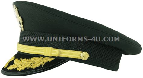 Us Army Green Service Cap Field Gradegeneral Officer