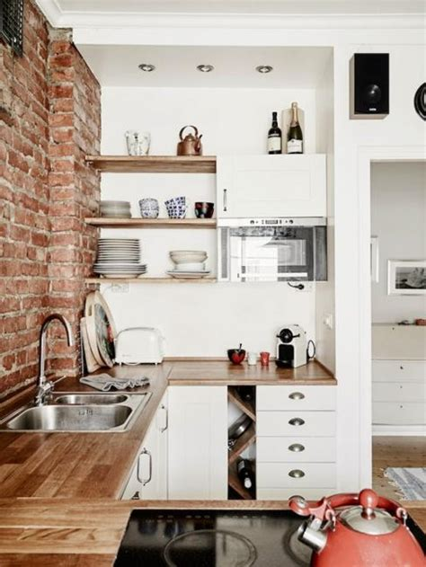 When your kitchen is functional it's time to think about decor. 25 Space Saving Small Kitchens and Color Design Ideas for Small Spaces