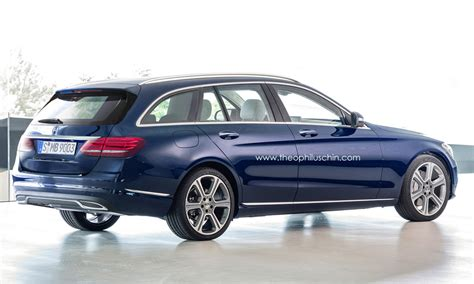 Gambar Mobil Mercedes C Class Estate by Upcoming Mercedes C Class Estate Rendered Gtspirit