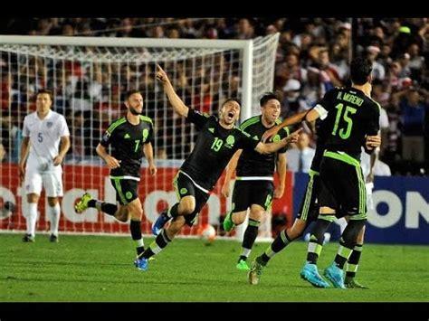 usa  mexico   goals  highlights