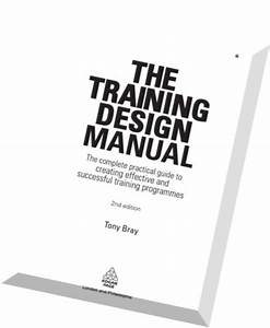 Download The Training Design Manualthe Complete Practical