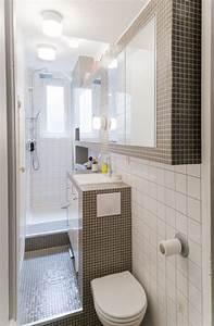 Douche Petit Espace : 8 mini salles de bains fonctionnelles et tendance ~ Voncanada.com Idées de Décoration