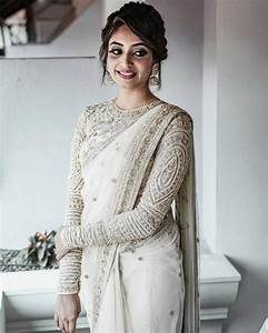 6 Ways to Don a White Saree for Wedding and Make a Bold ...