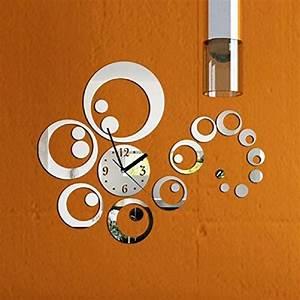Wanduhr Modern Groß : uraqt 3d modern wanduhr acryl diy kreatives design gro dekoration uhr deko wandtattoo ~ Whattoseeinmadrid.com Haus und Dekorationen